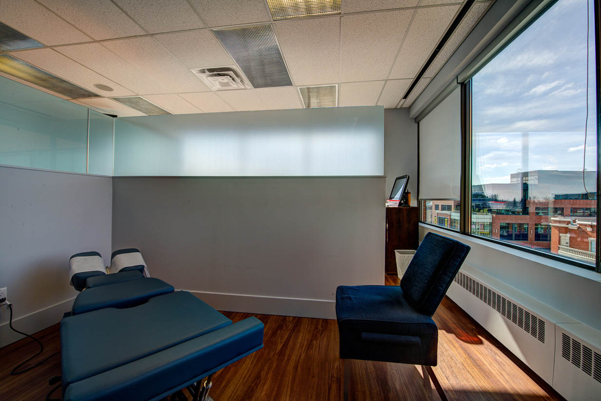 Mount Royal Village Family Chiropractic | Adjustment Room