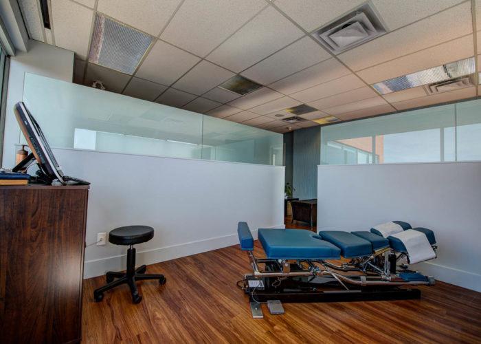 Mount Royal Village Family Chiropractic | Adjustment Room