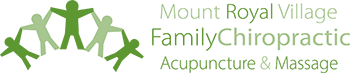 Mount Royal Village Family Chiropractic Acupuncture Massage Logo