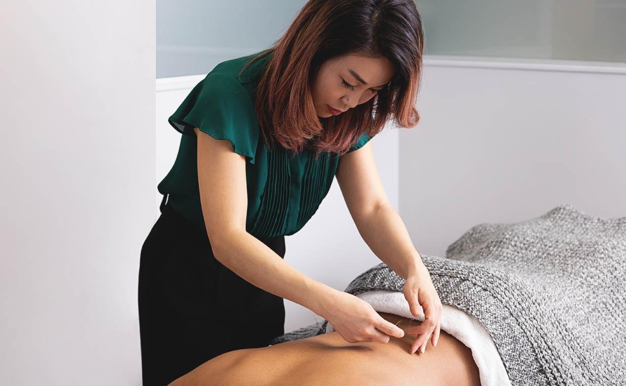 Dr. Kim Needling Patient