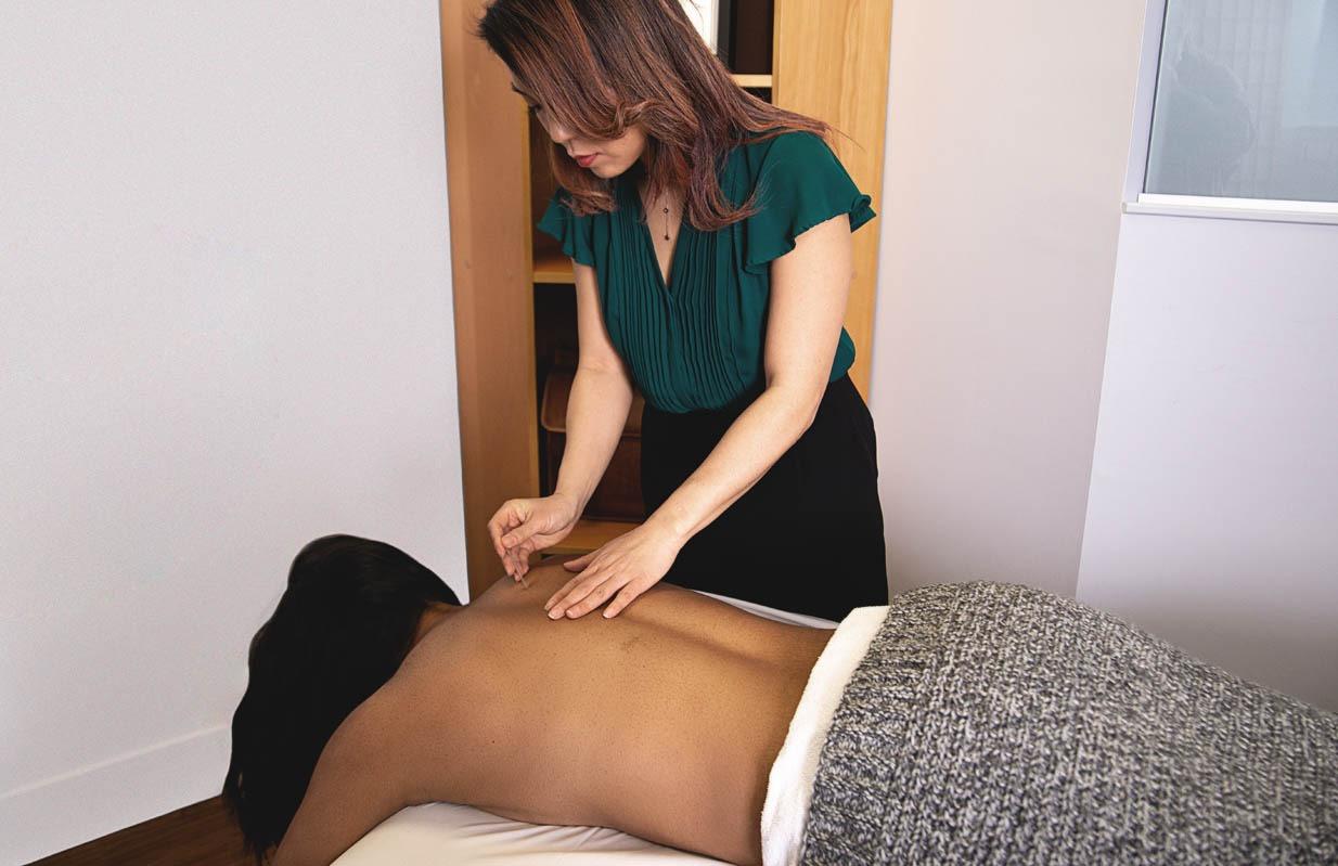 Dr. Kim Needling Upper Shoulder